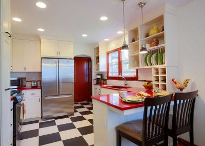 NE Portland Retro Kitchen Remodel