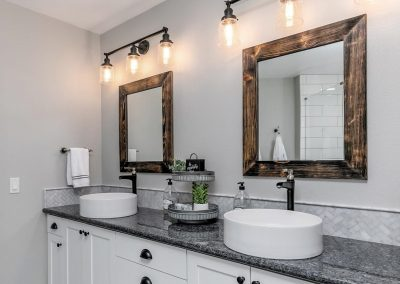 Portland Modern Farmhouse Style Vanity Bathroom