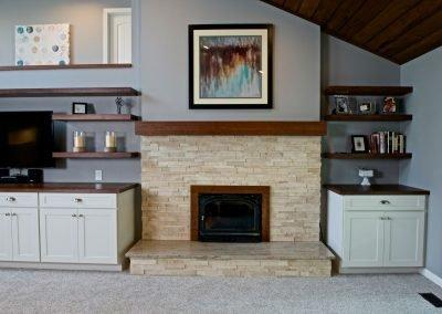 West Linn Transitional Fireplace 1