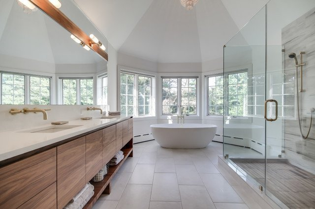 6 Modern Bathroom Ideas for Your Master Bath Makeover