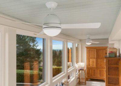 Lake Oswego Sunroom Beadboard Ceiling 02