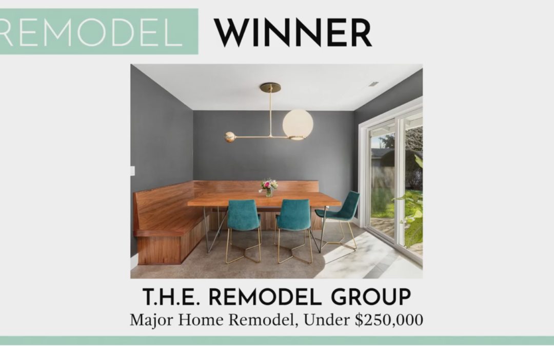 Structure+Style Award Winner: Best Major Home Remodel Under $250k for the second year running